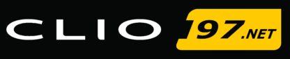 Clio197.net Full Colour Logo Sticker