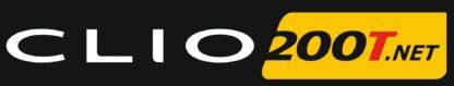 Clio200T.net Full Colour Logo Sticker
